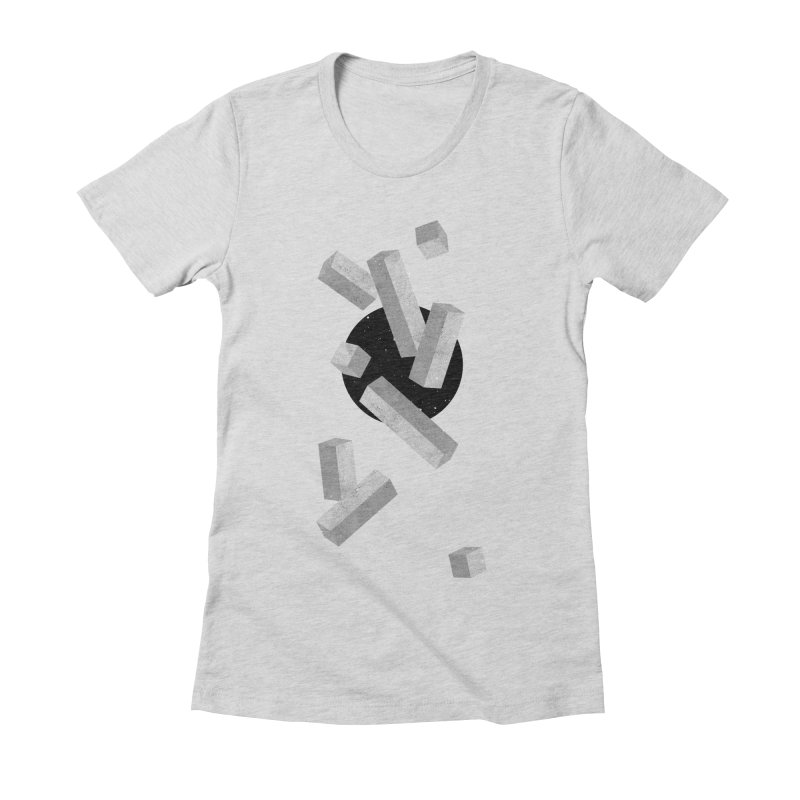 10 Items or Less Women's Fitted T-Shirt by Eric Zelinski (EZFL)