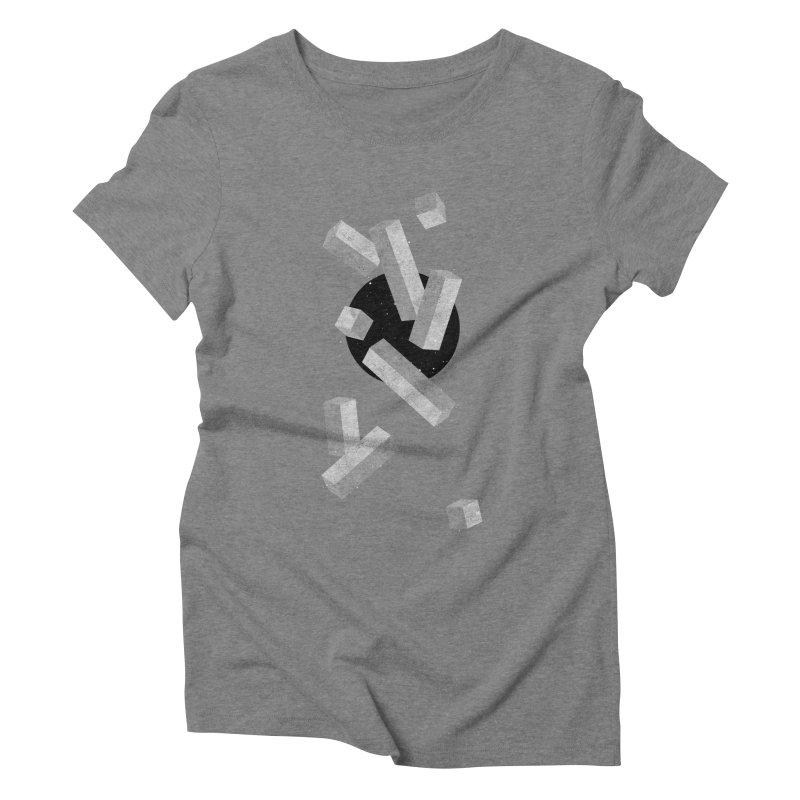 10 Items or Less Women's Triblend T-shirt by Eric Zelinski (EZFL)