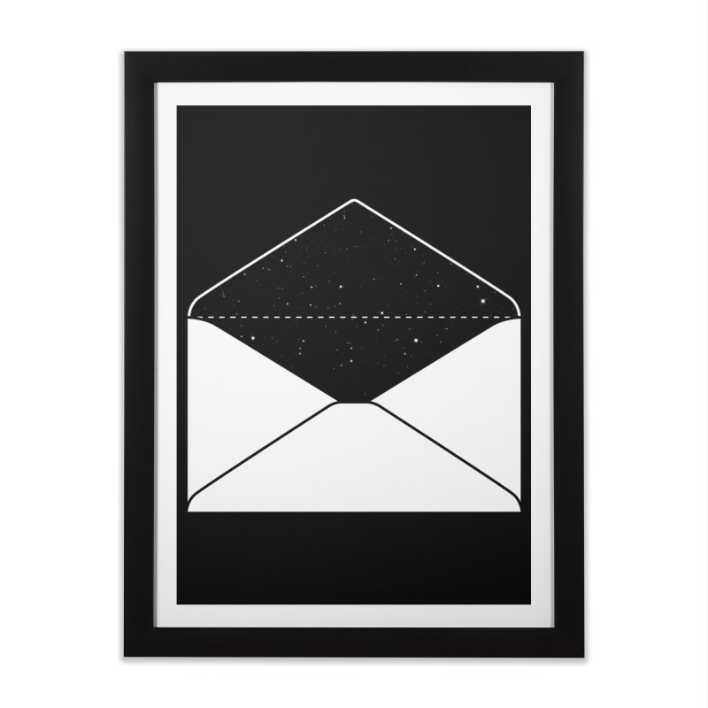 Space Mail Home Framed Fine Art Print by Eric Zelinski (EZFL)