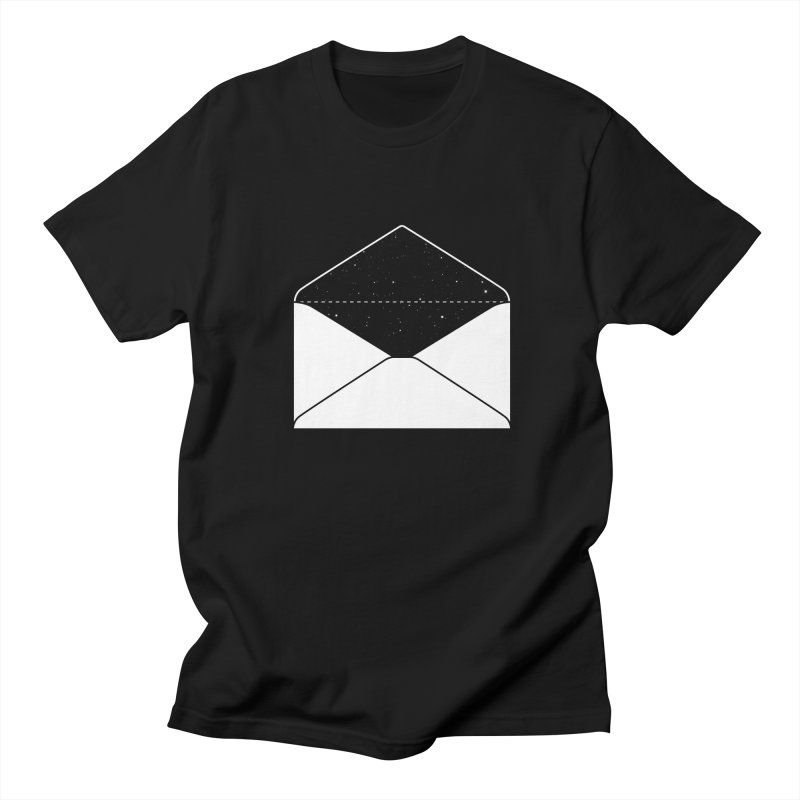 Space Mail Men's T-shirt by Eric Zelinski (EZFL)