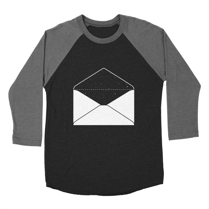 Space Mail Men's Baseball Triblend T-Shirt by Eric Zelinski (EZFL)