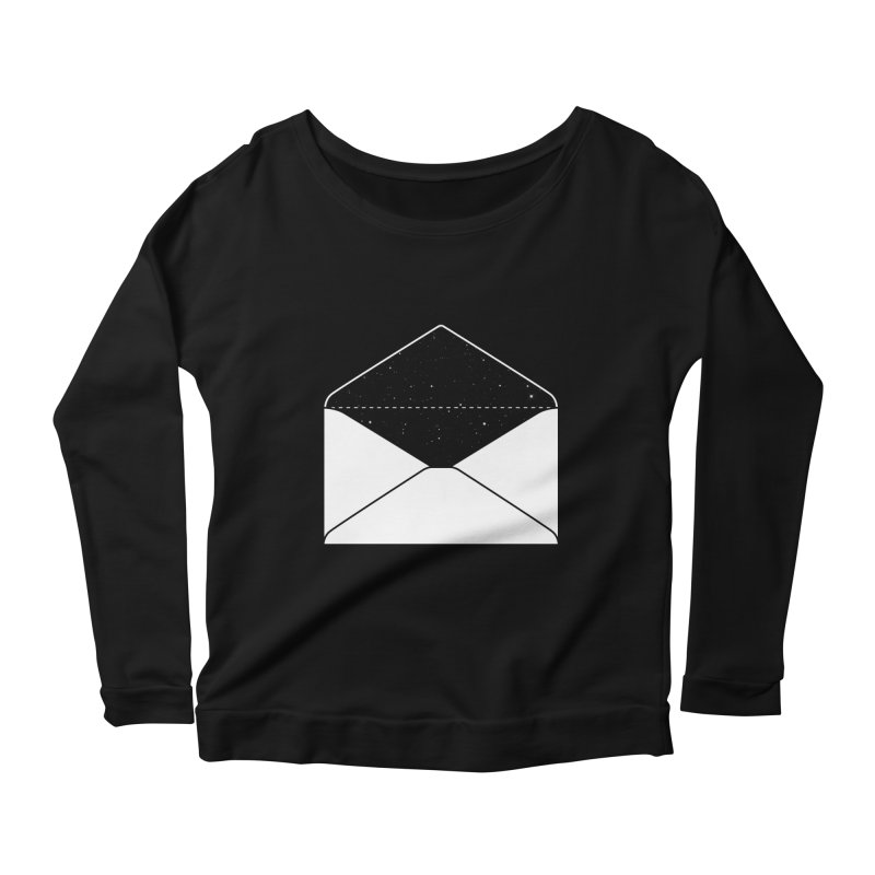 Space Mail Women's Longsleeve Scoopneck  by Eric Zelinski (EZFL)