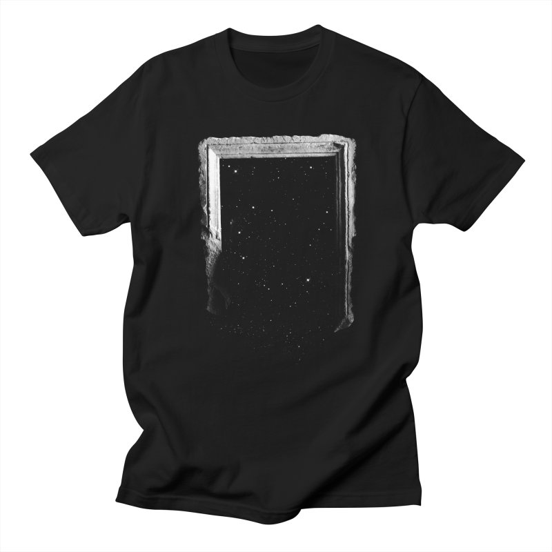Egress in Men's T-shirt Black by Eric Zelinski (EZFL)