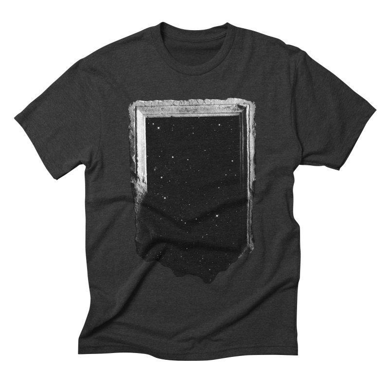 Egress Men's Triblend T-shirt by Eric Zelinski (EZFL)