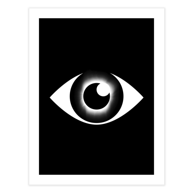 Eyeclipse Home Fine Art Print by Eric Zelinski (EZFL)
