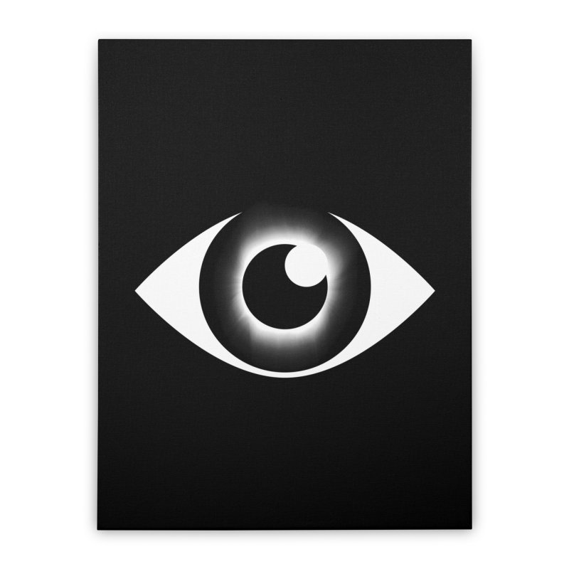 Eyeclipse Home Stretched Canvas by Eric Zelinski (EZFL)