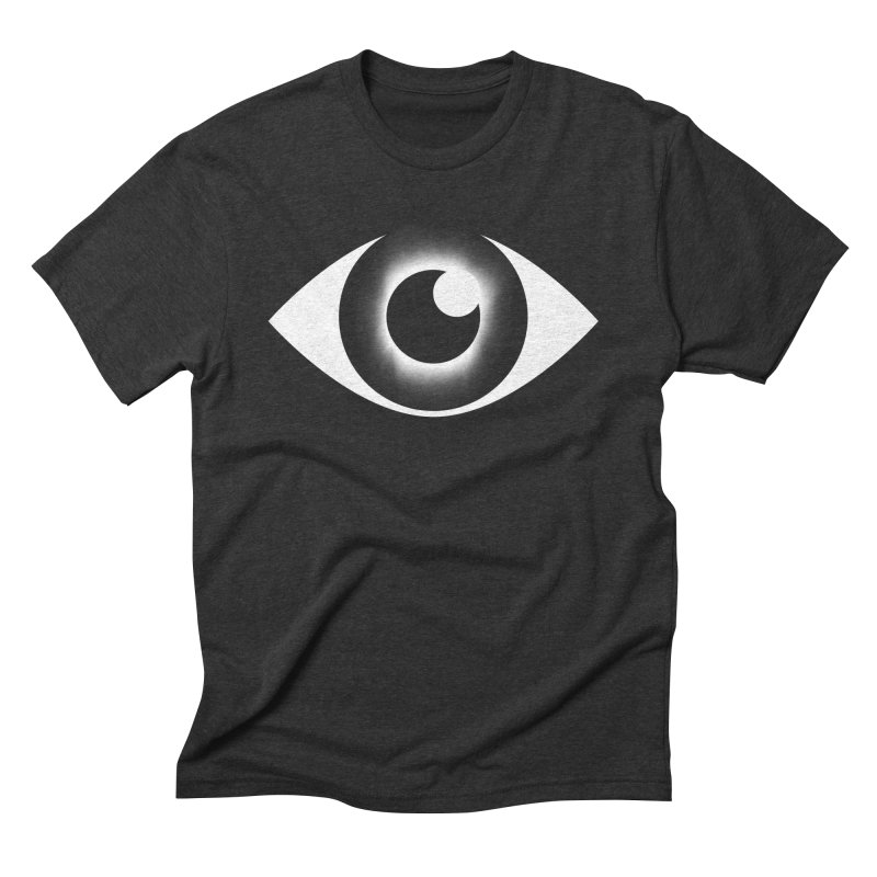 Eyeclipse in Men's Triblend T-shirt Heather Onyx by Eric Zelinski (EZFL)