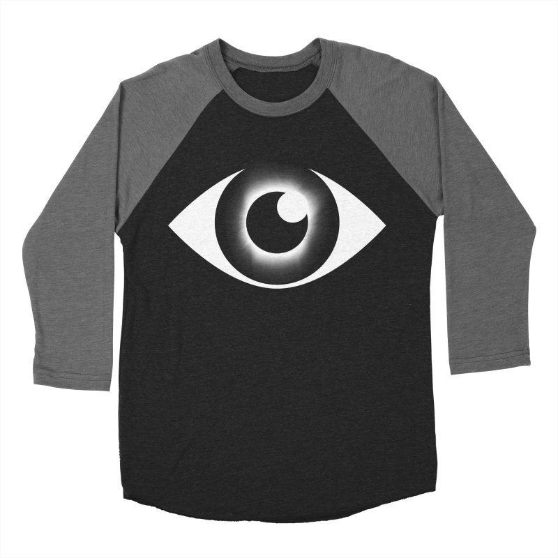 Eyeclipse Men's Baseball Triblend T-Shirt by Eric Zelinski (EZFL)