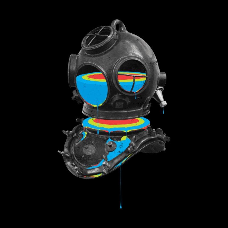 Diver No.12 Men's Pullover Hoody by Eric Zelinski (EZFL)