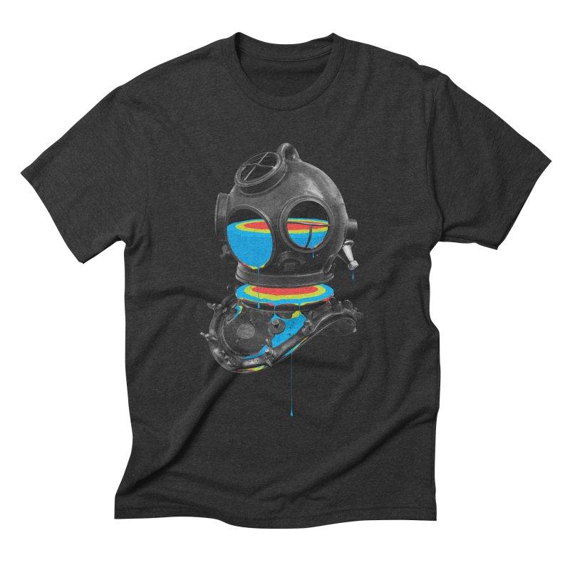 Diver No.12 Men's Triblend T-shirt by Eric Zelinski (EZFL)