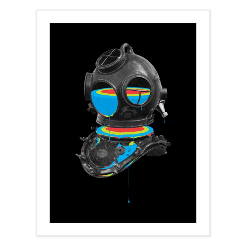 Diver No.12 Home Fine Art Print by Eric Zelinski (EZFL)