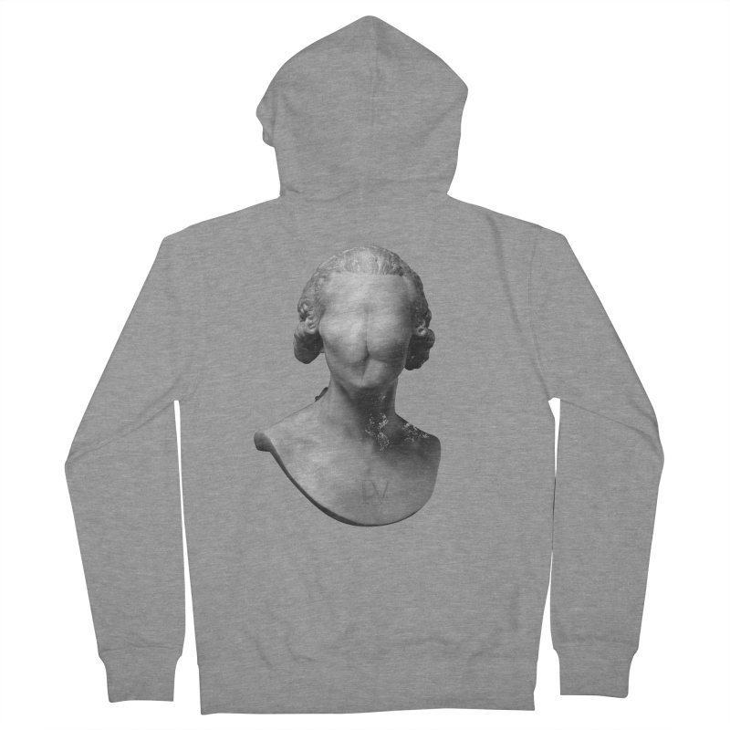 Sir Gluteus IV of Derriere Men's Zip-Up Hoody by Eric Zelinski (EZFL)