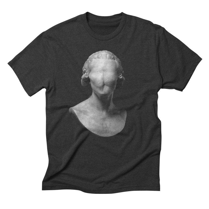 Sir Gluteus IV of Derriere Men's Triblend T-Shirt by Eric Zelinski (EZFL)