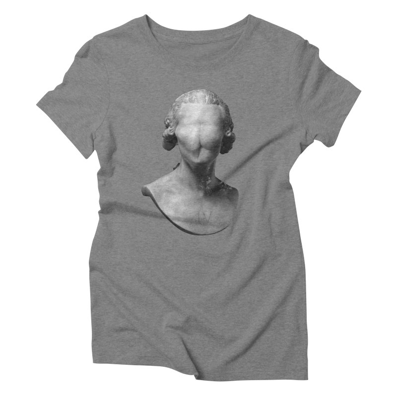 Sir Gluteus IV of Derriere Women's Triblend T-Shirt by Eric Zelinski (EZFL)