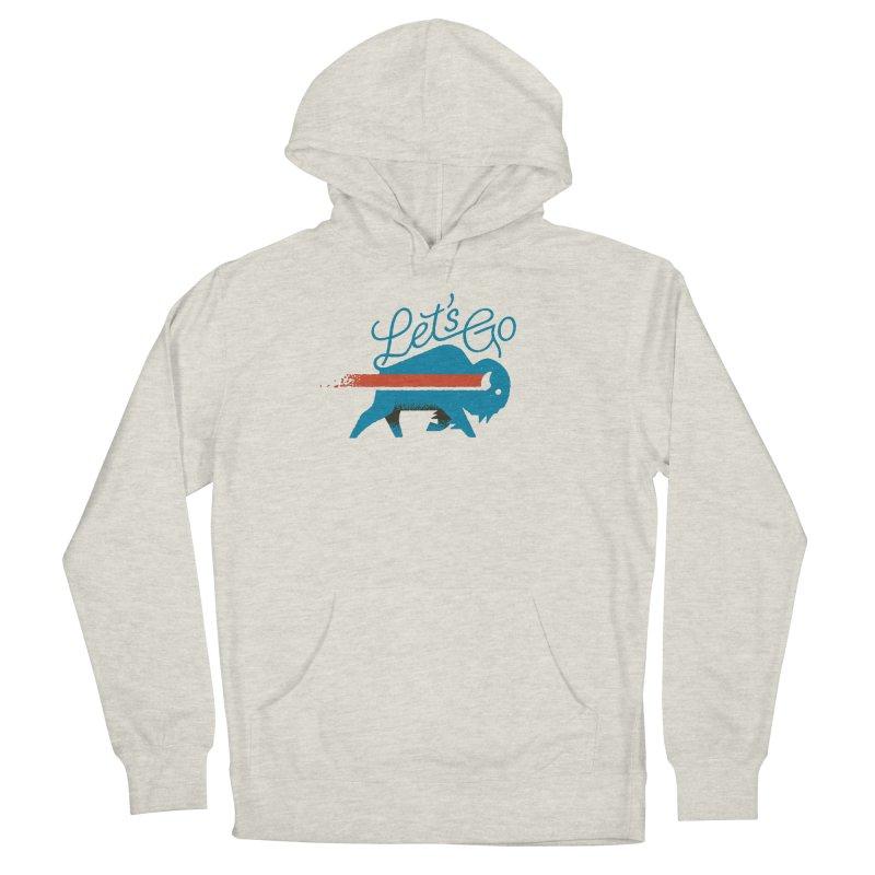 Let's Go Buffalo Men's Pullover Hoody by Erikas