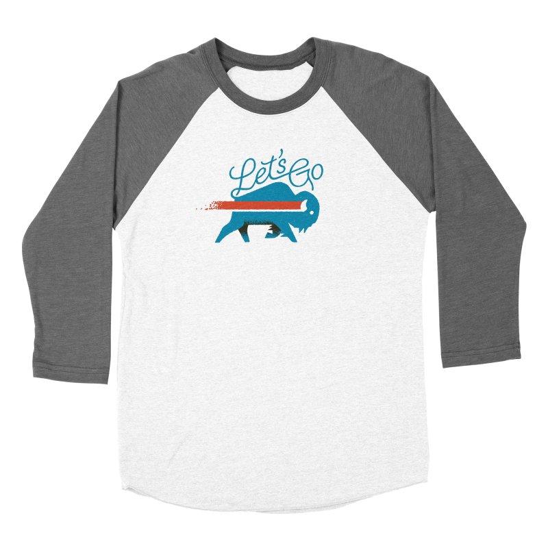 Let's Go Buffalo Men's Longsleeve T-Shirt by Erikas