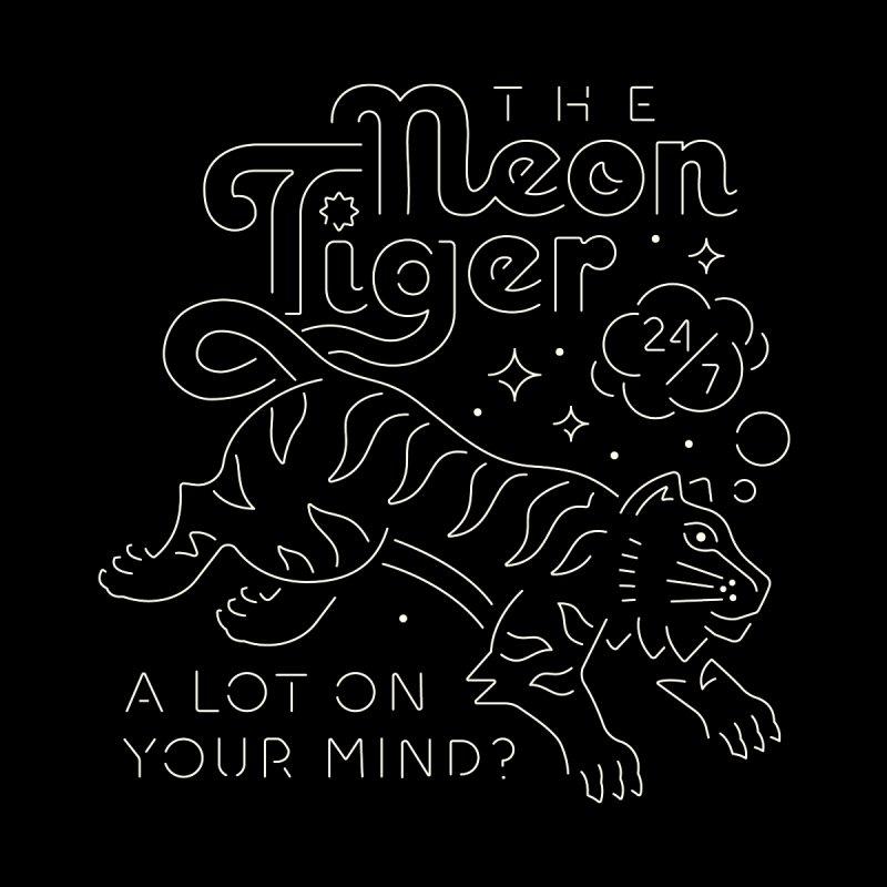 Neon Tiger Women's T-Shirt by Erikas