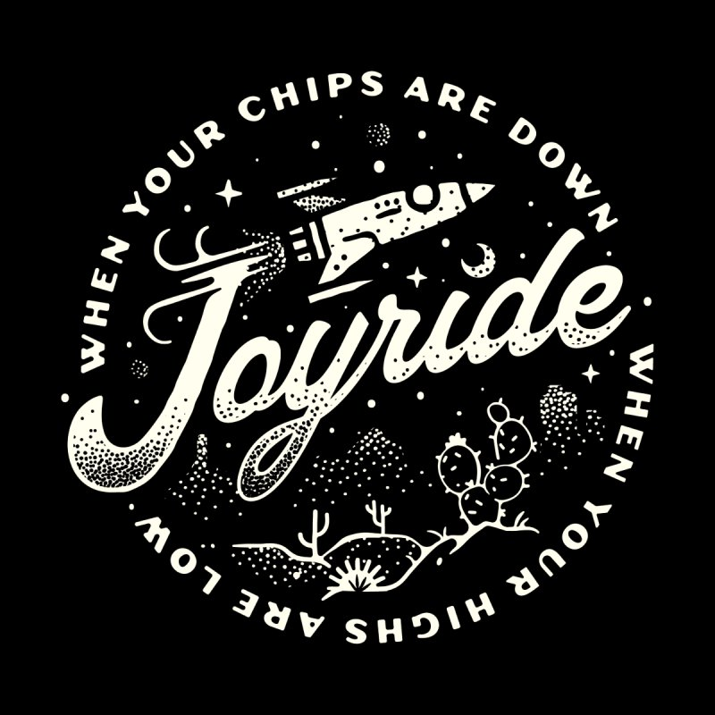 Joyride Men's T-Shirt by Erikas
