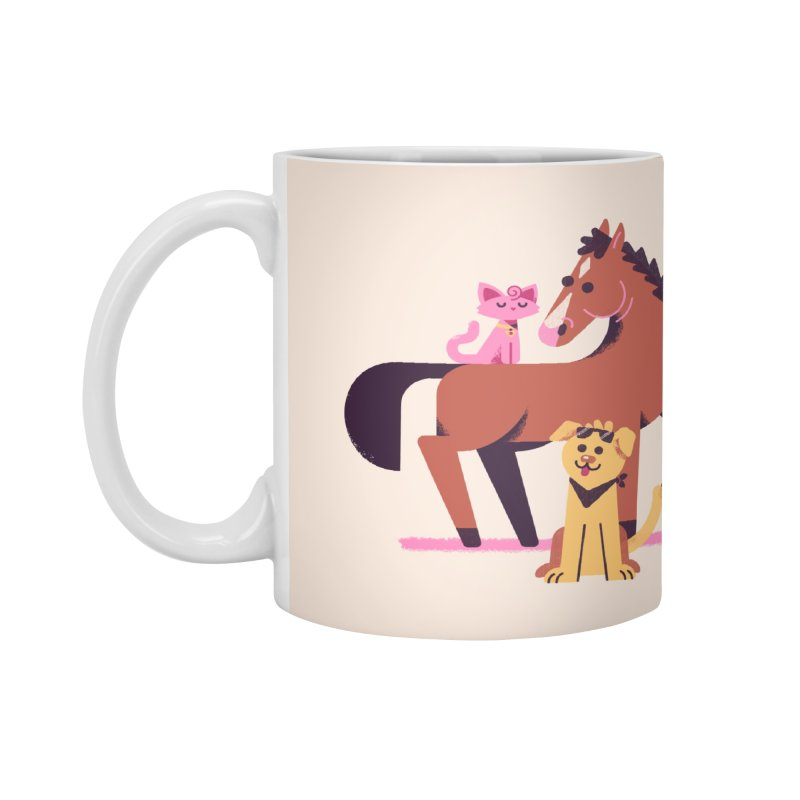 Depressed Horse & Friends Accessories Mug by Erikas