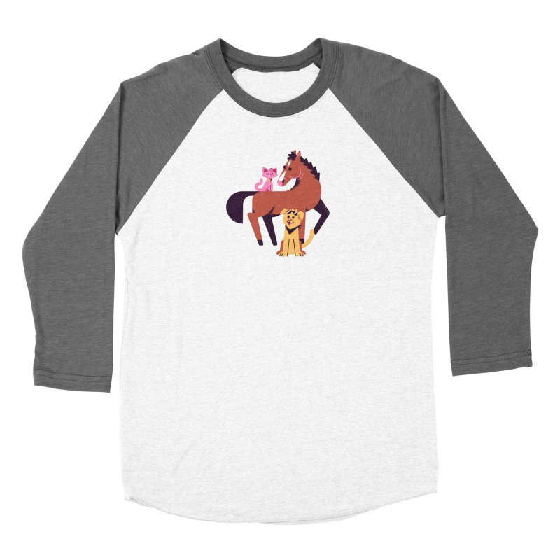 Depressed Horse & Friends Women's Longsleeve T-Shirt by Erikas