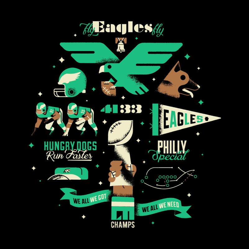 Eagles - SBLII Champs Accessories Bag by Erikas
