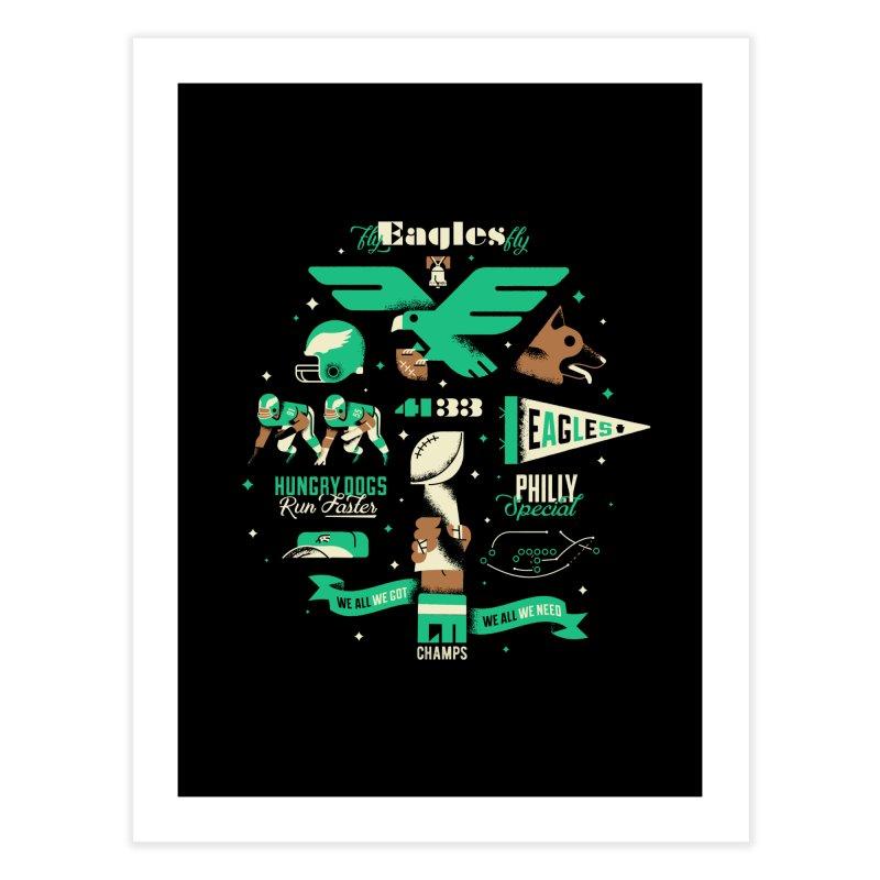 Eagles - SBLII Champs Home Fine Art Print by Erikas