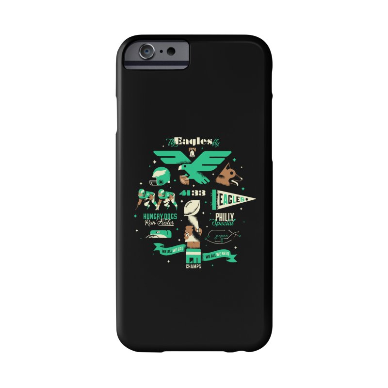 Eagles - SBLII Champs Accessories Phone Case by Erikas