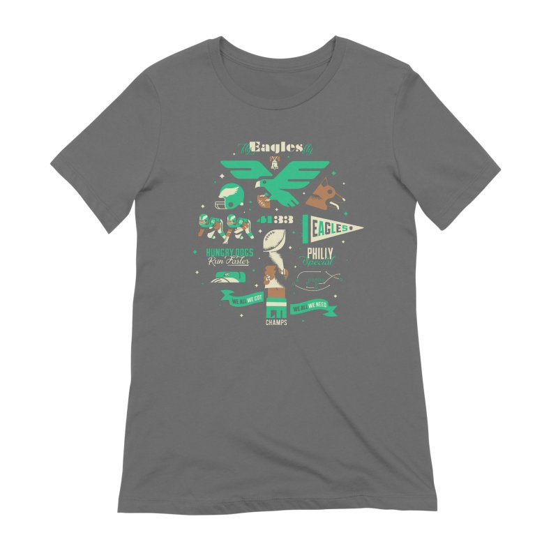 Eagles - SBLII Champs Women's T-Shirt by Erikas