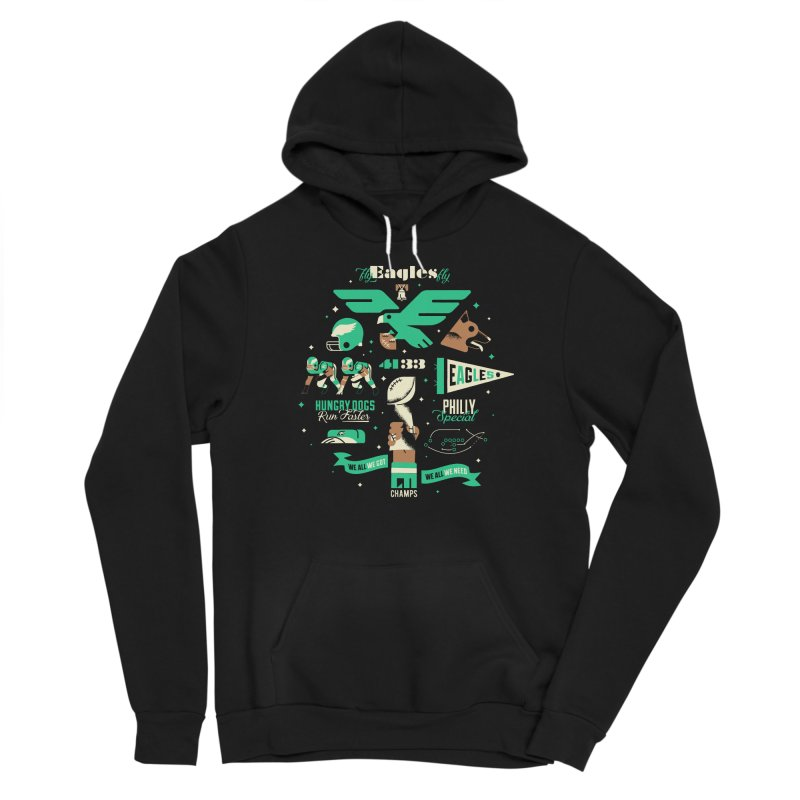 Eagles - SBLII Champs Women's Pullover Hoody by Erikas