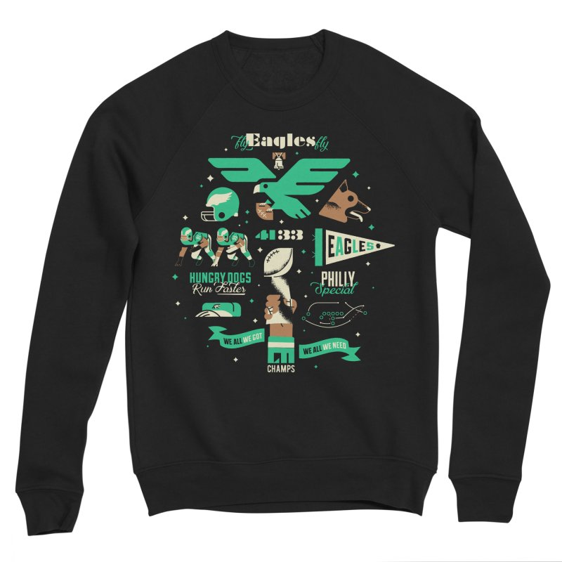 Eagles - SBLII Champs Women's Sweatshirt by Erikas