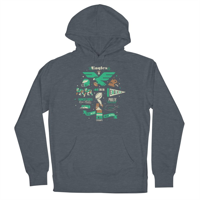Eagles - SBLII Champs Men's Pullover Hoody by Erikas
