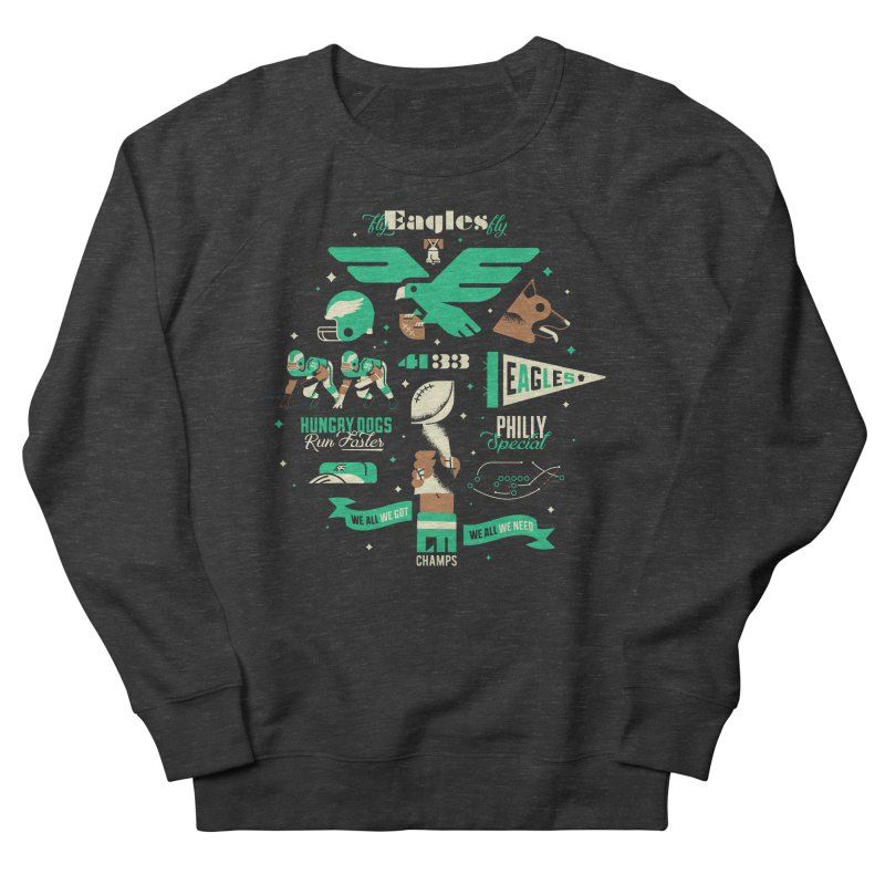 Eagles - SBLII Champs Women's Sweatshirt by Erikas