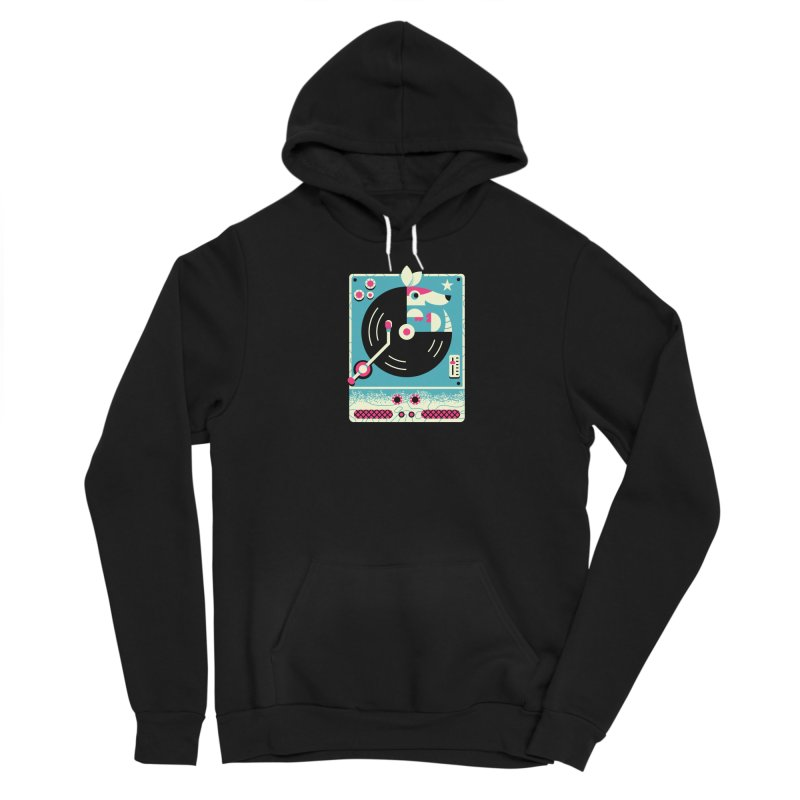 The Armadillo Record Women's Pullover Hoody by Erikas