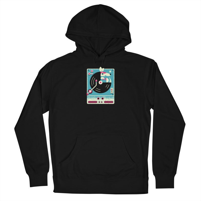 The Armadillo Record Men's Pullover Hoody by Erikas