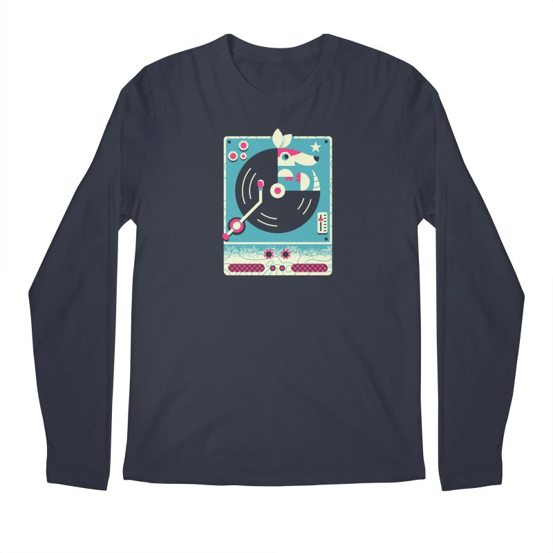 The Armadillo Record Men's Longsleeve T-Shirt by Erikas