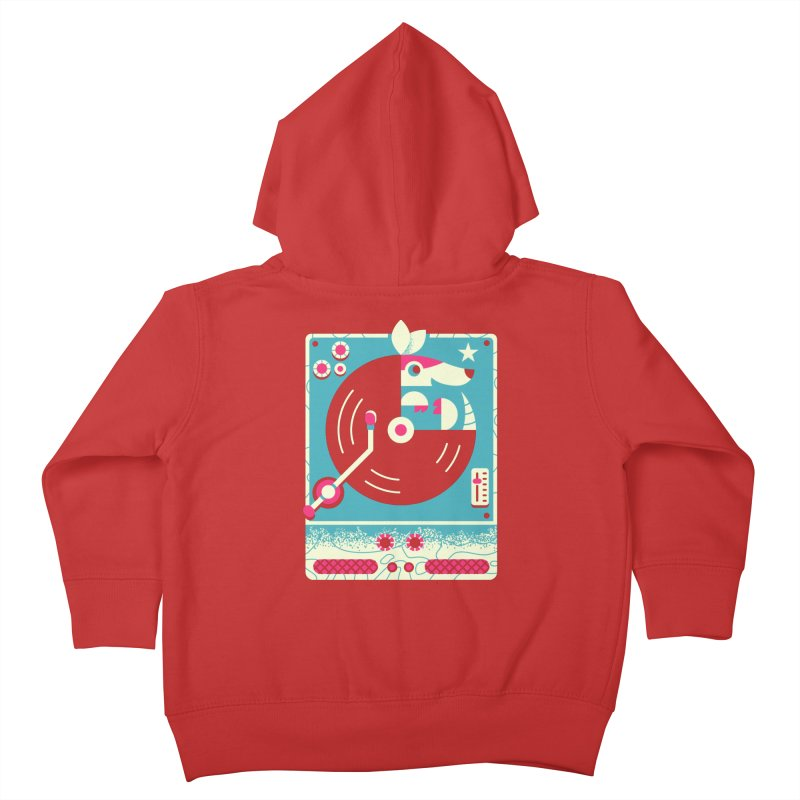 The Armadillo Record Kids Toddler Zip-Up Hoody by Erikas