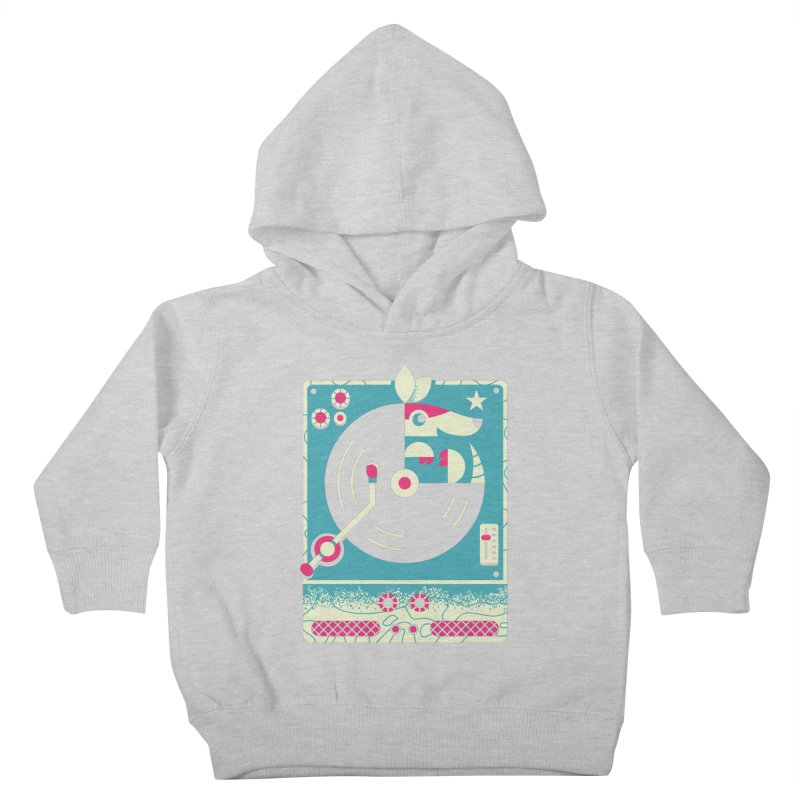 The Armadillo Record Kids Toddler Pullover Hoody by Erikas