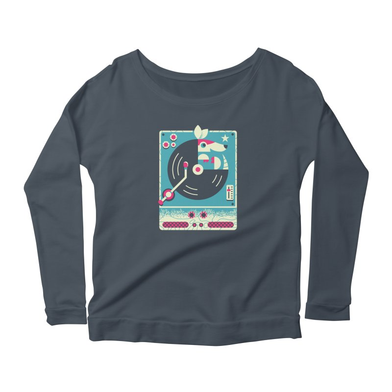 The Armadillo Record Women's Longsleeve T-Shirt by Erikas