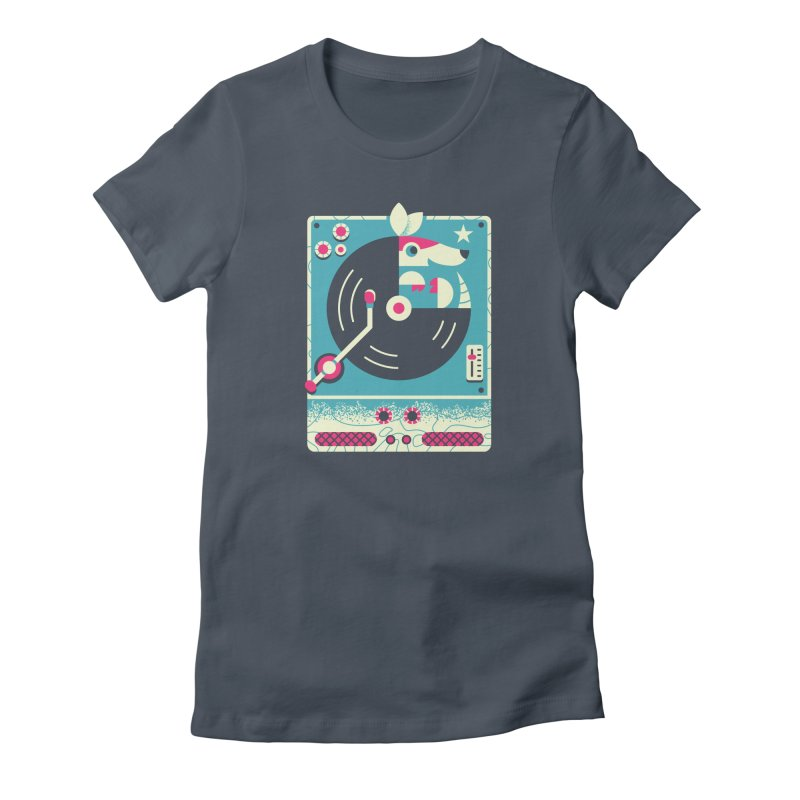 The Armadillo Record Women's T-Shirt by Erikas