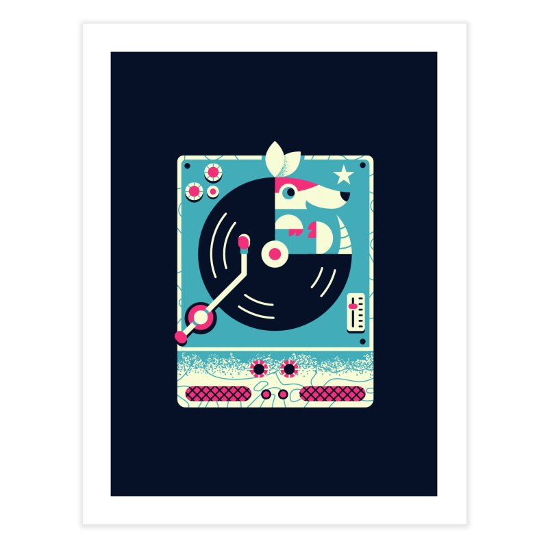 The Armadillo Record Home Fine Art Print by Erikas