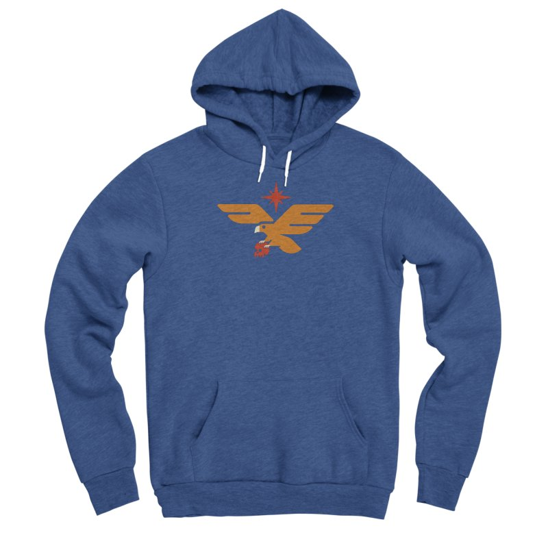 Lost Eagle Men's Pullover Hoody by Erikas