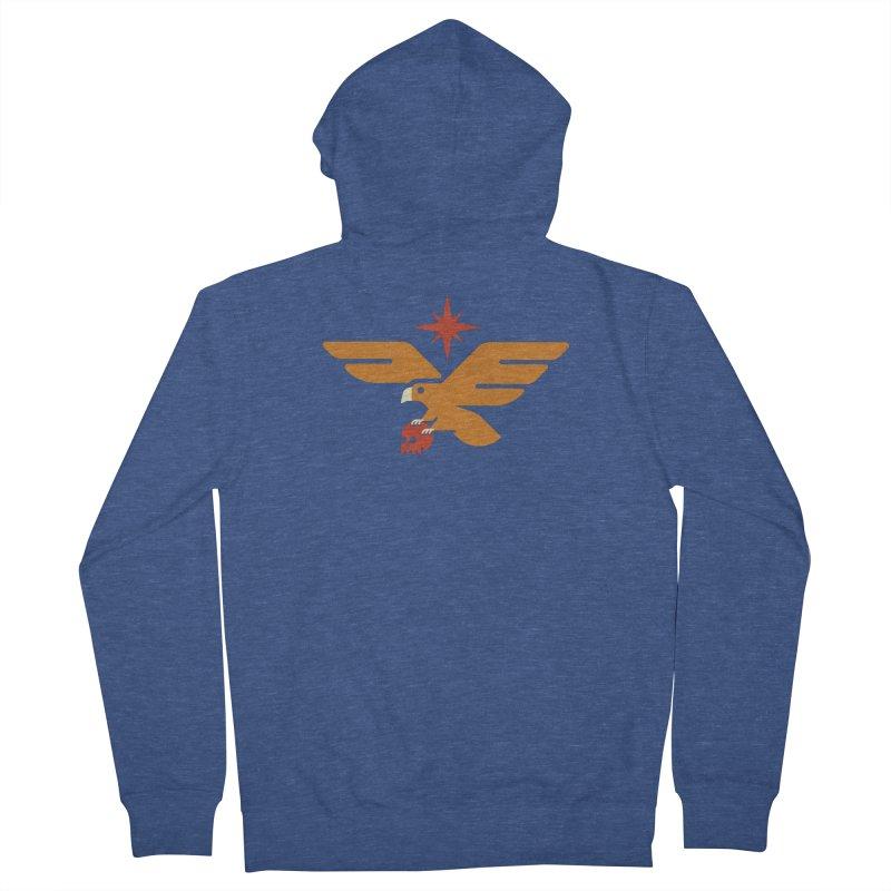 Lost Eagle Men's Zip-Up Hoody by Erikas