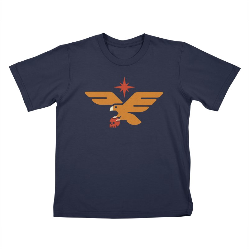 Lost Eagle Kids T-Shirt by Erikas