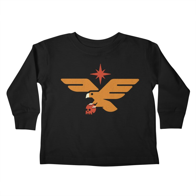 Lost Eagle Kids Toddler Longsleeve T-Shirt by Erikas