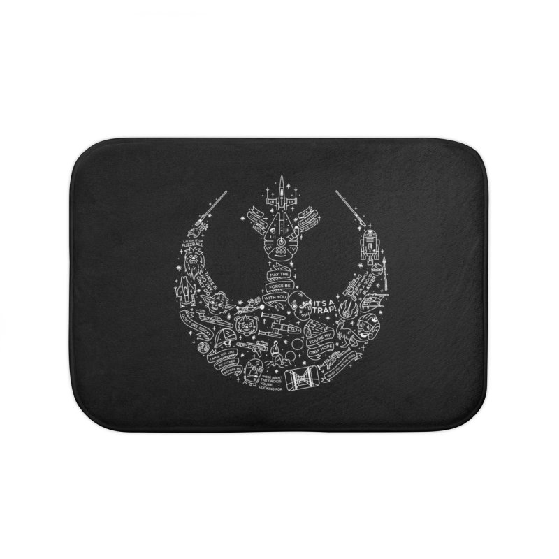 Rebel Scum Home Bath Mat by Erikas