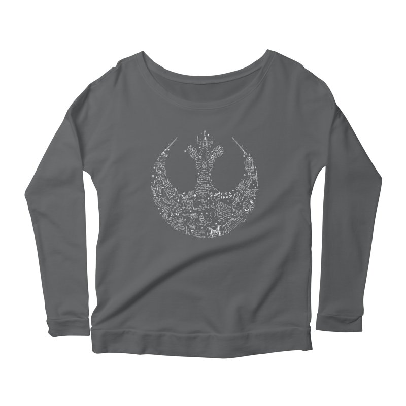 Rebel Scum Women's Longsleeve T-Shirt by Erikas