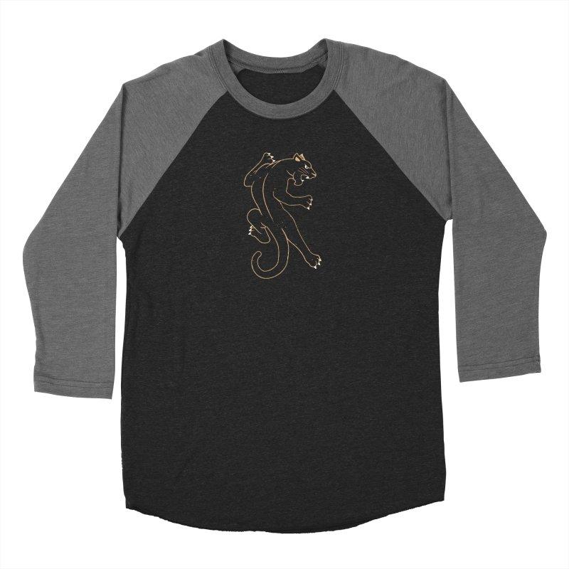 Gold Panther Women's Longsleeve T-Shirt by Erikas