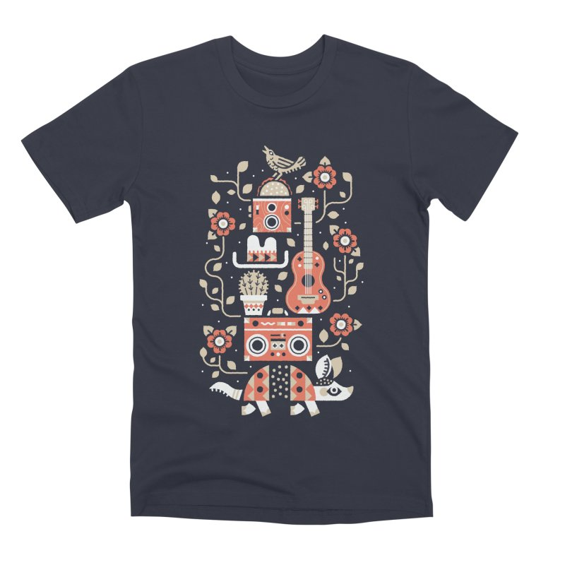 Groovy Armadillo Men's T-Shirt by Erikas