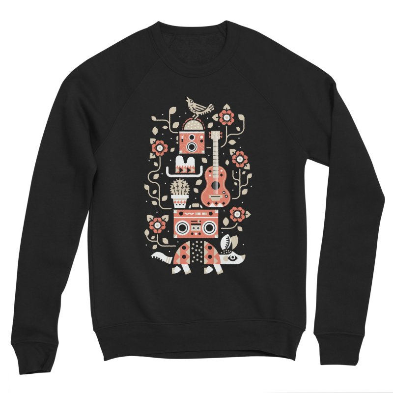 Groovy Armadillo Men's Sweatshirt by Erikas