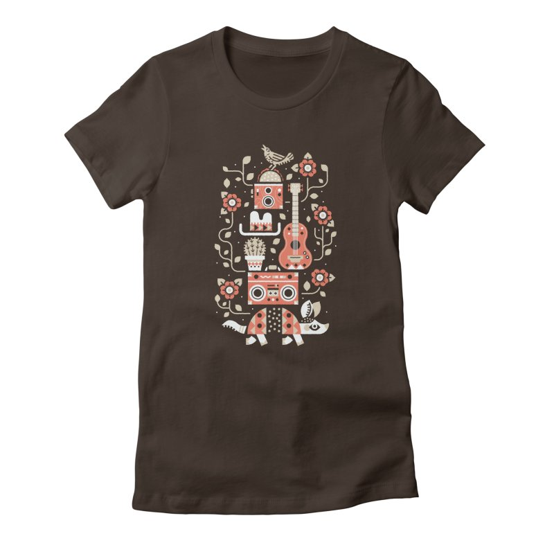Groovy Armadillo Women's T-Shirt by Erikas